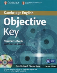 Objective : Objective Key Student's Book without Answers with CD-ROM, Mixed media product Book