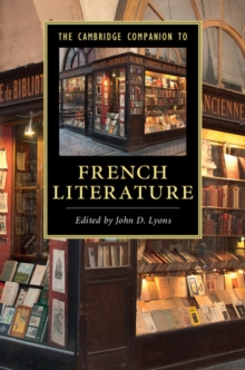 Cambridge Companions to Literature : The Cambridge Companion to French Literature, Paperback / softback Book