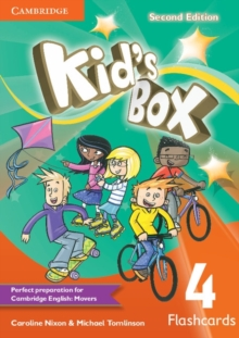 Kid's Box Level 4 Flashcards (Pack of 103), Cards Book