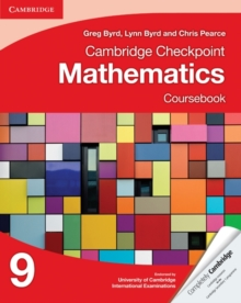 Cambridge Checkpoint Mathematics Coursebook 9, Paperback / softback Book