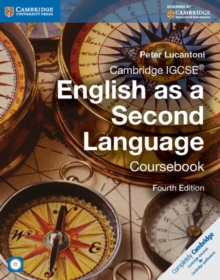 Cambridge IGCSE English as a Second Language Coursebook with Audio CD, Mixed media product Book
