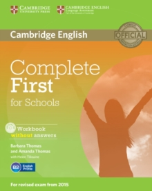 Complete First for Schools Workbook without Answers with Audio CD, Mixed media product Book