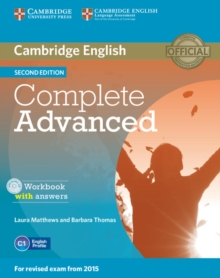 Complete Advanced Workbook with Answers with Audio CD, Mixed media product Book