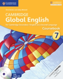 Cambridge Global English Stage 7 Coursebook with Audio CD : For Cambridge Secondary 1 English as a Second Language, Mixed media product Book