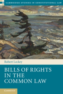 Bills of Rights in the Common Law, Paperback Book