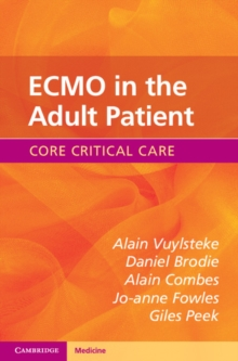 Core Critical Care : ECMO in the Adult Patient, Paperback / softback Book