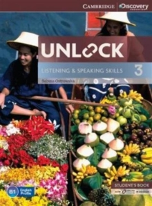 Unlock Level 3 Listening and Speaking Skills Student's Book and Online Workbook, Mixed media product Book