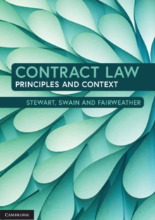 Contract Law : Principles and Context, Paperback / softback Book