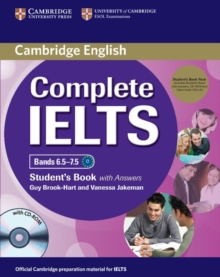 Complete IELTS Bands 6.5-7.5 Student's Pack (student's Book with Answers with CD-ROM and Class Audio CDs (2)), Mixed media product Book