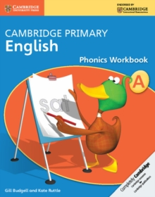Cambridge Primary English Phonics Workbook A, Paperback / softback Book