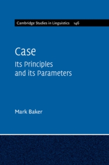 Case : Its Principles and its Parameters, Paperback Book
