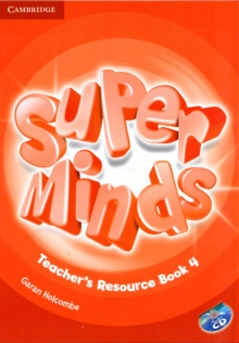 Super Minds Level 4 Teacher's Resource Book with Audio CD, Mixed media product Book