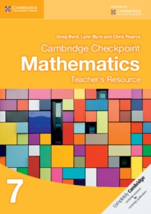 Cambridge Checkpoint Mathematics Teacher's Resource 7, CD-ROM Book