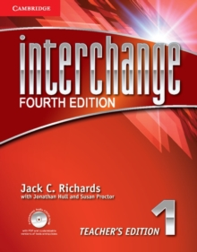 Interchange Level 1 Teacher's Edition with Assessment Audio CD/CD-ROM, Mixed media product Book