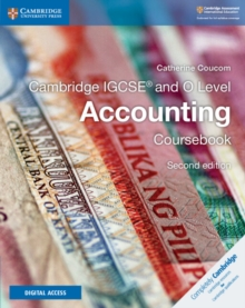 Cambridge IGCSE (R) and O Level Accounting Coursebook with Cambridge Elevate Enhanced Edition (2 Years), Mixed media product Book