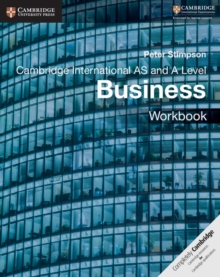 Cambridge International AS and A Level Business Workbook, Paperback / softback Book