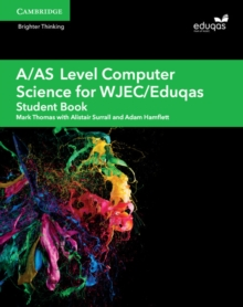 A/AS Level Computer Science for WJEC/Eduqas Student Book, Paperback Book