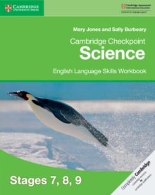 Cambridge Checkpoint Science English Language Skills Workbook Stages 7, 8, 9, Paperback / softback Book