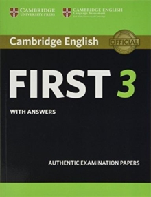 FCE Practice Tests : Cambridge English First 3 Student's Book with Answers, Paperback / softback Book