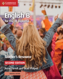 IB Diploma : English B for the IB Diploma Teacher's Resource with Cambridge Elevate, Mixed media product Book