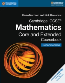 Cambridge IGCSE (R) Mathematics Core and Extended Coursebook, Paperback / softback Book