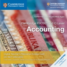 Cambridge IGCSE (R) and O Level Accounting Cambridge Elevate Teacher's Resource Access Card, Digital product license key Book