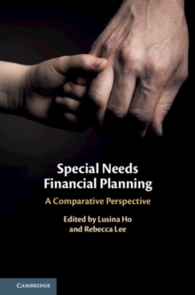 Special Needs Financial Planning : A Comparative Perspective, Hardback Book
