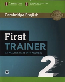 First Trainer 2 Six Practice Tests with Answers with Audio, Mixed media product Book