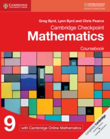 Cambridge Checkpoint Mathematics Coursebook 9 with Cambridge Online Mathematics (1 Year), Mixed media product Book