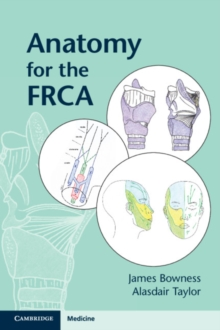 Anatomy for the FRCA, Paperback / softback Book