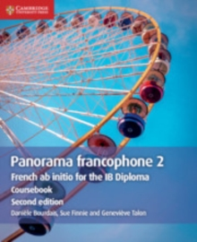 Panorama francophone 2 Coursebook : French ab initio for the IB Diploma, Paperback / softback Book