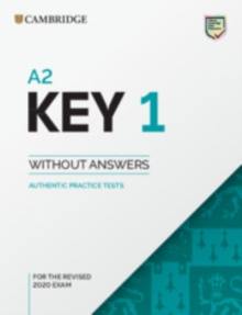 KET Practice Tests : A2 Key 1 for the Revised 2020 Exam Student's Book without Answers: Authentic Practice Tests, Paperback / softback Book