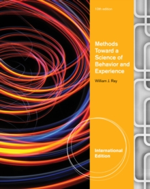 Methods Toward a Science of Behavior and Experience, International Edition, Paperback Book
