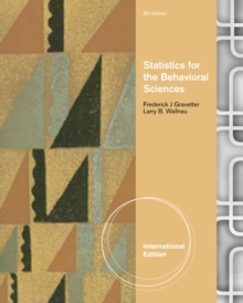 Statistics for the Behavioral Sciences, International Edition, Paperback Book