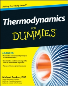 Thermodynamics for Dummies, Paperback Book