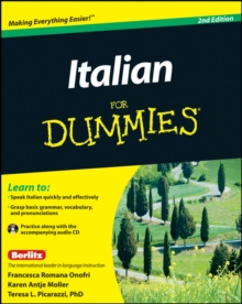 Italian for Dummies, 2nd Edition with CD, Paperback Book