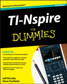 TI-Nspire For Dummies, Paperback Book