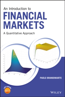 An Introduction to Financial Markets : A Quantitative Approach, Hardback Book