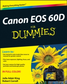 Canon EOS 60D For Dummies, PDF eBook