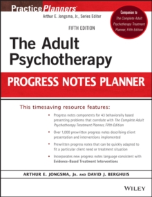 The Adult Psychotherapy Progress Notes Planner, Paperback Book