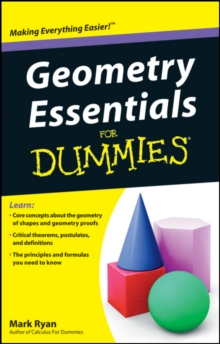 Geometry Essentials for Dummies, Paperback / softback Book