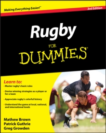 Rugby For Dummies, PDF eBook