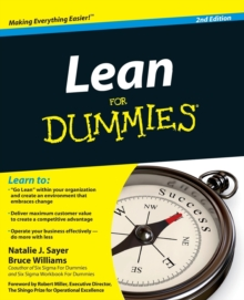 Lean For Dummies, Paperback / softback Book