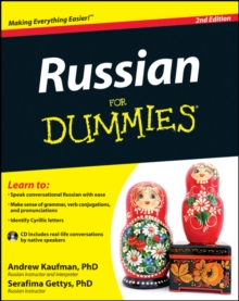 Russian for Dummies, 2nd Edition with CD, Paperback Book
