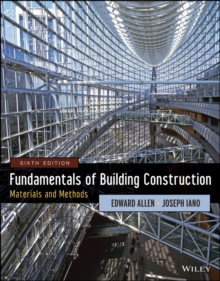 Fundamentals of Building Construction : Materials and Methods, Hardback Book