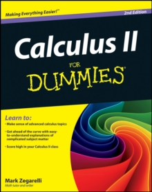 Calculus II For Dummies, Paperback / softback Book