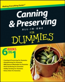 Canning and Preserving All-in-One For Dummies, PDF eBook