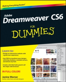 Dreamweaver CS6 For Dummies, EPUB eBook