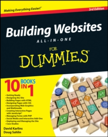 Building Websites All-in-One For Dummies, Paperback / softback Book