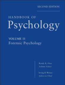 Handbook of Psychology, Forensic Psychology, EPUB eBook